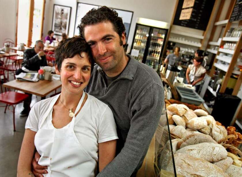 Zoe Nathan and Josh Loeb, of Rustic Canyon, Milo & Olive and Huckleberry, plan to open a restaurant with Bryant and Kim Ng of Spice Table.