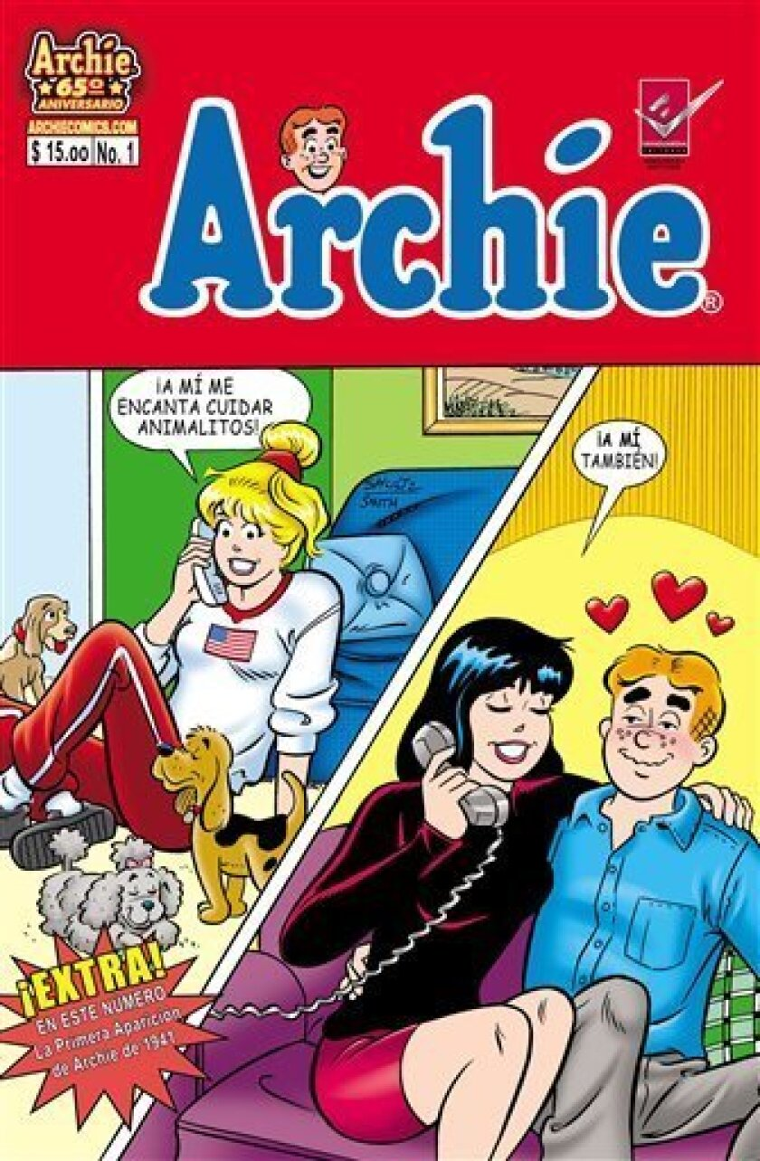 Mi Amigo Archie Comics Plans Spanish Editions The San Diego Union Tribune