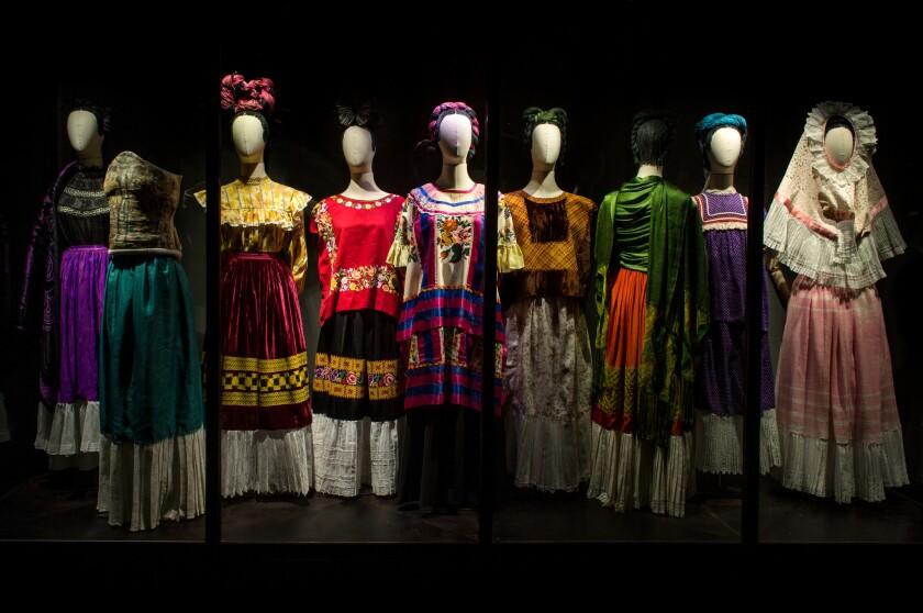 Los vestidos de Frida