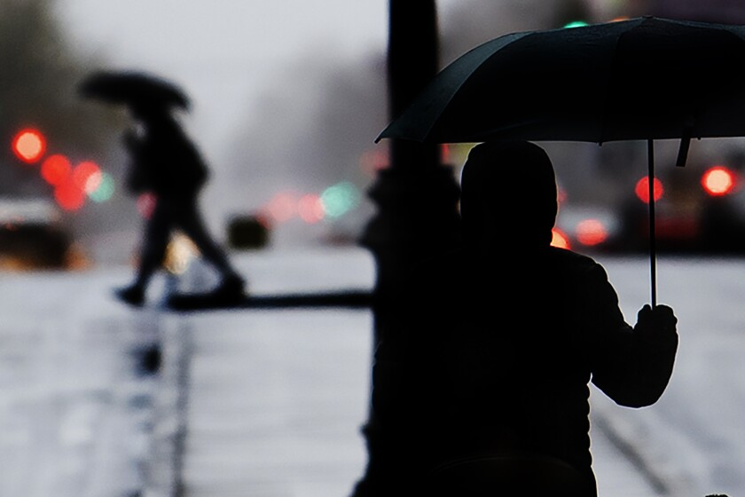 Wintry Weather-Pennsylvania