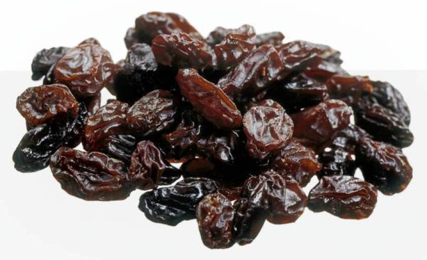 California produces 99.5% of the nation's raisins and about 40% of the world's supply, but the U.S. Department of Agriculture has a say on how some of the crop can be used.