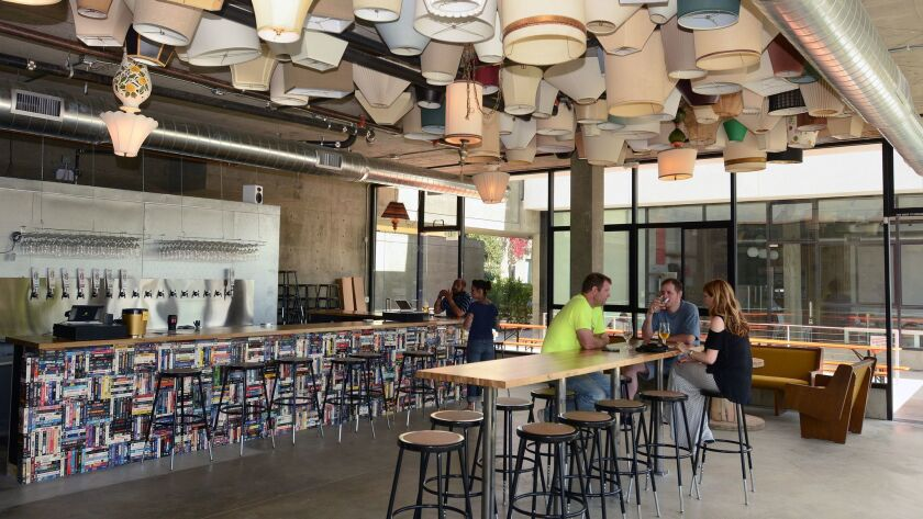 2014.05.28 -- Interior view of Modern Times Beer in North Park. (Rick Nocon/ For The San Diego Union