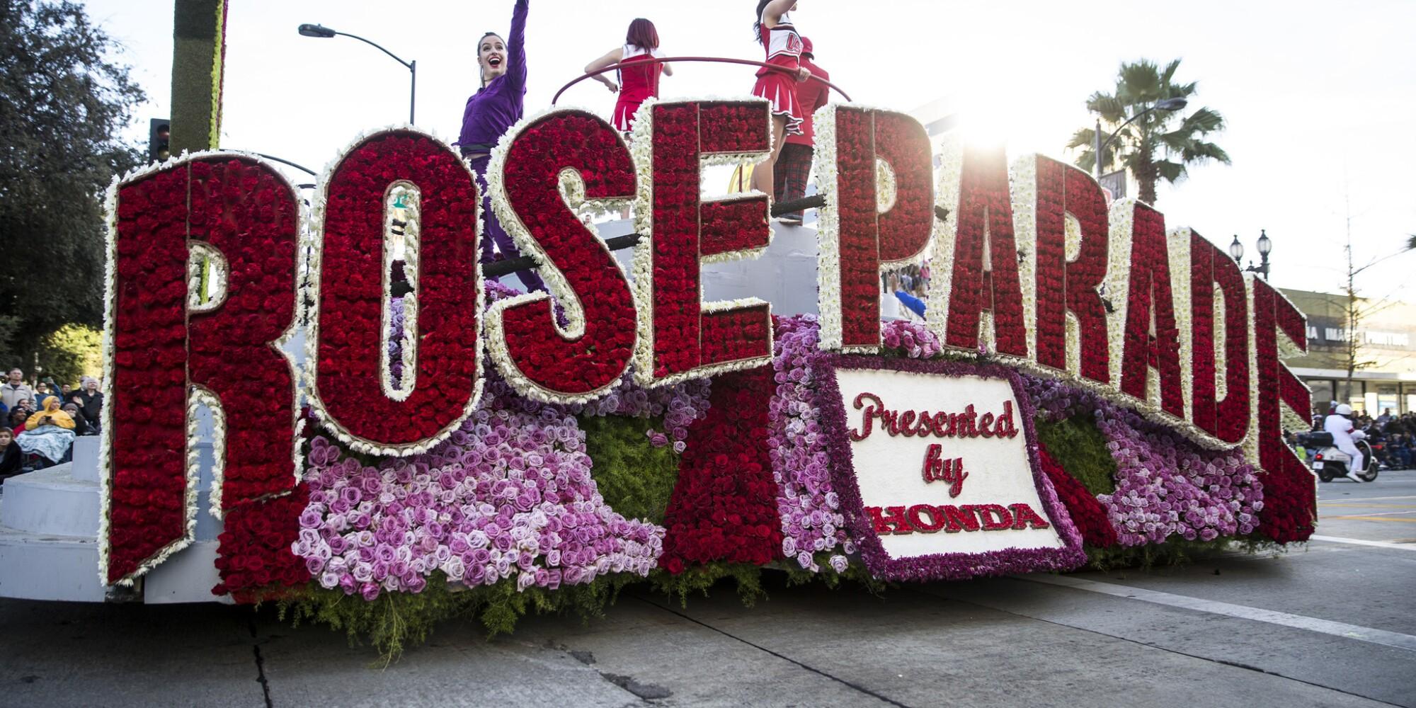 2019 Rose Parade live coverage