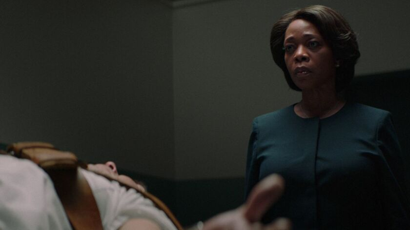 Alfre Woodard and Alex Castillo appear in <i>Clemency<i/>by Chinonye Chokwu, an official selection o