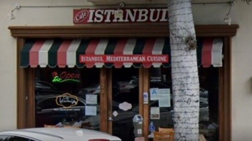 Café Istanbul in Beverly Hills