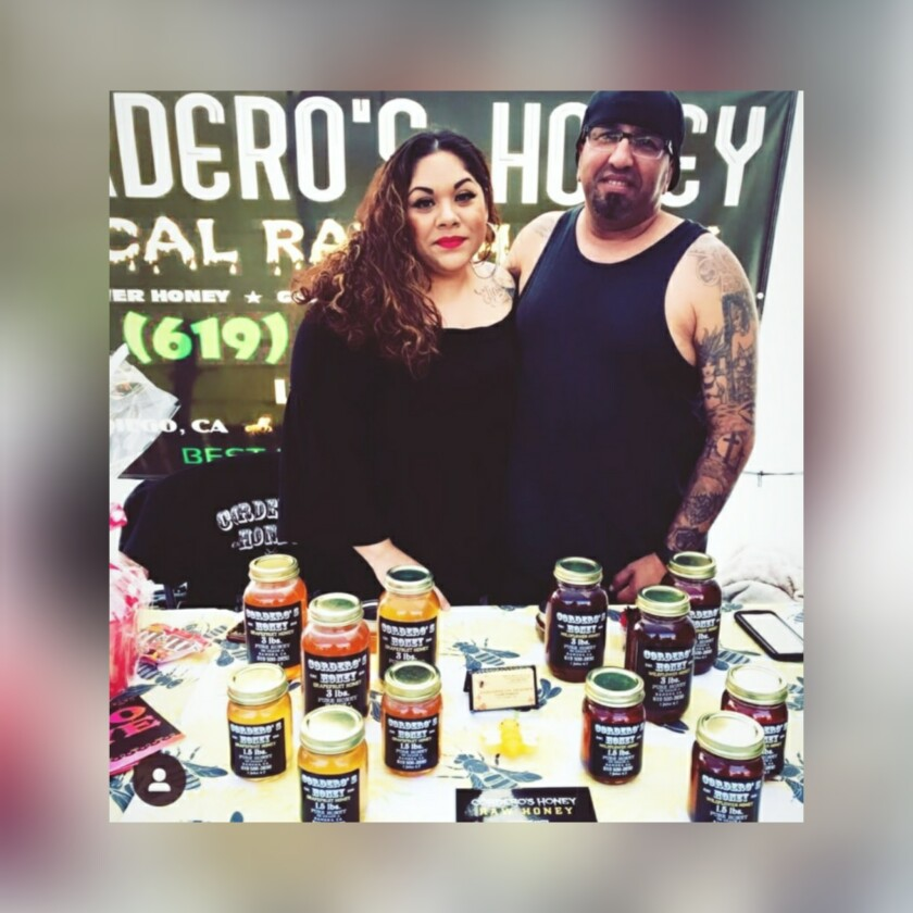 """Elias """"EZ"""" and Moe Cordero from Cordero's Honey in Ramona and Casa Rustica are co-sponsoring the upcoming Artisans Market."""