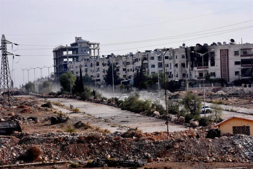 Rusia y China vetaron hoy en el Consejo de Seguridad de la ONU una propuesta de resolución para establecer en la ciudad siria de Alepo una tregua de siete días. EFE/ARCHIVO