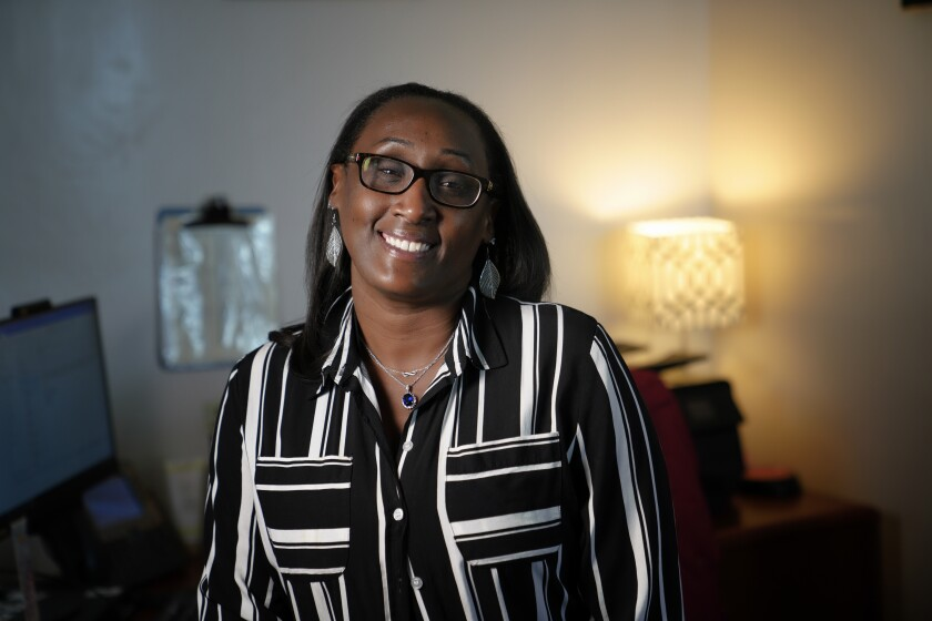 Precious Jackson-Hubbard is the principal at Bell Middle School in Paradise Hills.