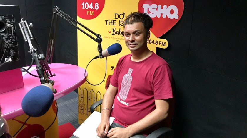 """Harish Iyer, host of the """"Gaydio"""" show, is a trailblazing equal rights activist in India."""