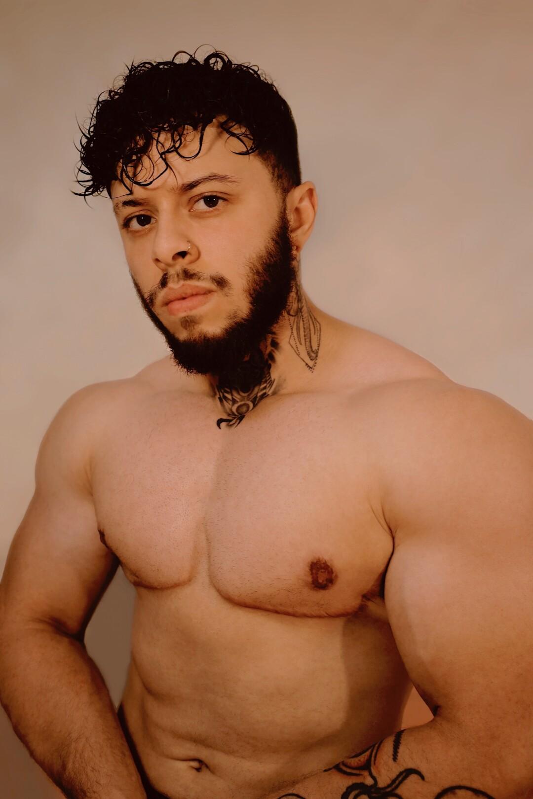 Bodybuilder Ajay Holbrook.