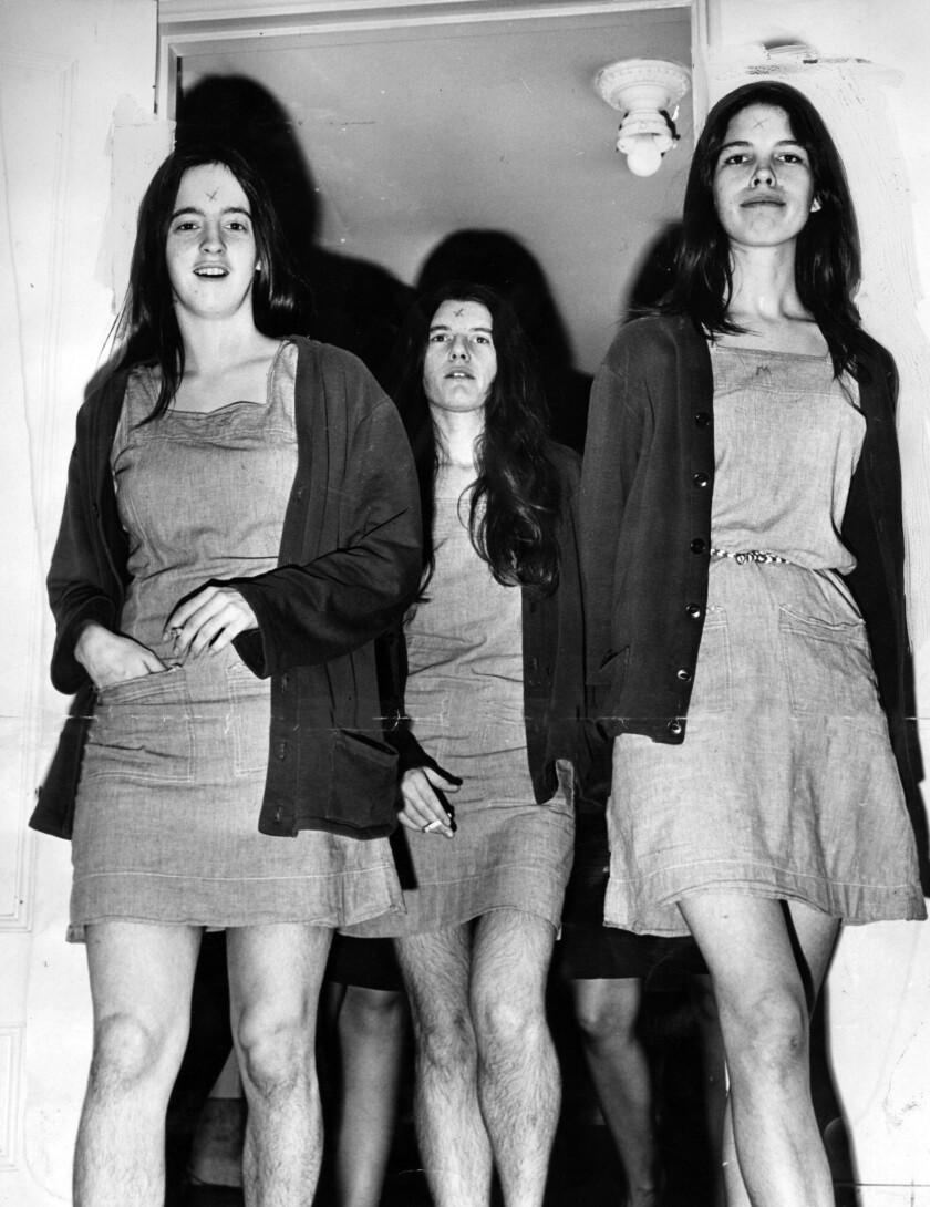 Susan Atkins, Patricia Krenwinkel, Leslie Van Houten