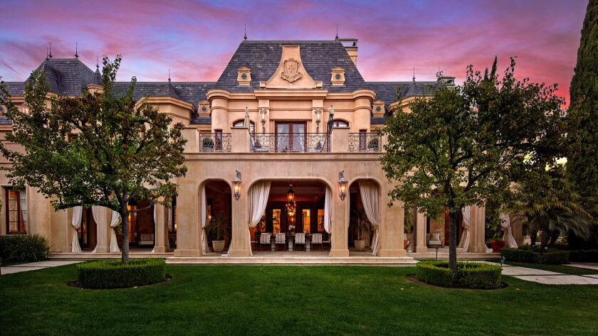 A Richard Landry-designed mansion in Beverly Park has sold for $32 million, the most paid for a home in the gated community this year.