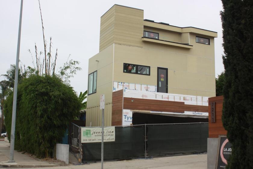 La Jolla Light has learned that because this project at 7231 La Jolla Blvd. is considered an 'addition' and 'remodel,' it does not require local community review.