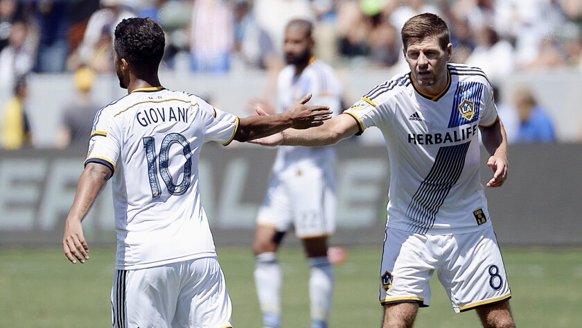 The Galaxy has been ahead of the MLS curve when it comes to bringing in international talent such as Giovani dos Santos from Mexico and Steven Gerrard from England.