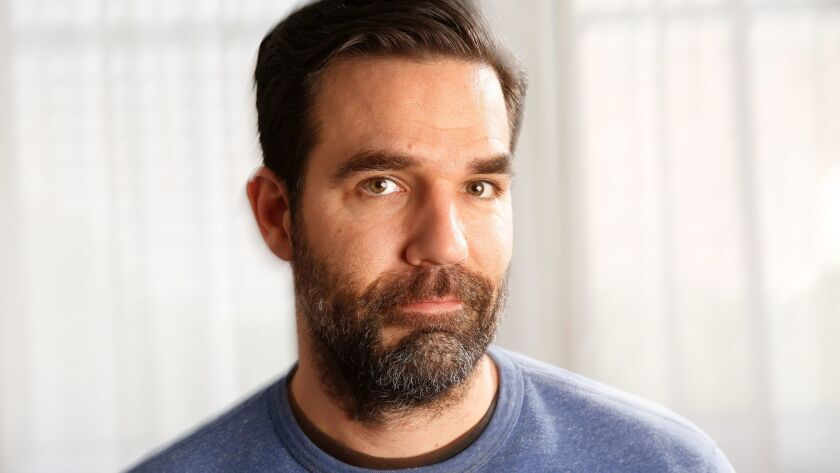 NEW YORK, NEW YORK--JUNE 3, 2015--Rob Delaney stars and is one of the writers of the new romantic co