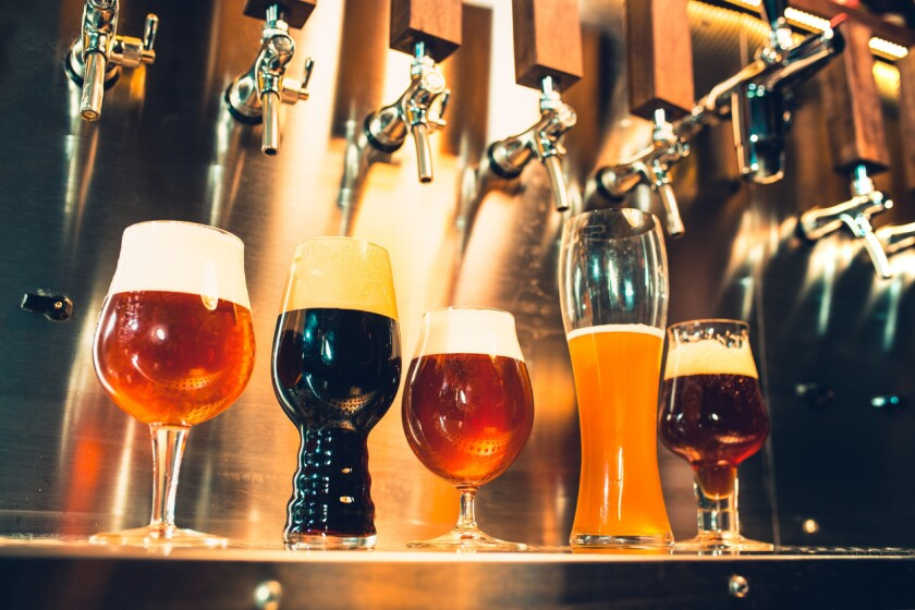 Where does beer get its color?
