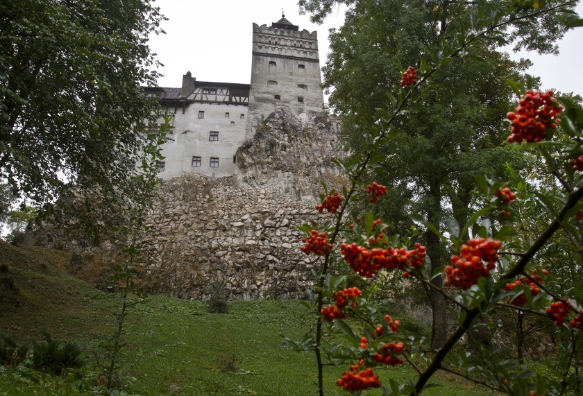 Coronavirus Vaccination Center Set Up at Dracula's Castle in Romania