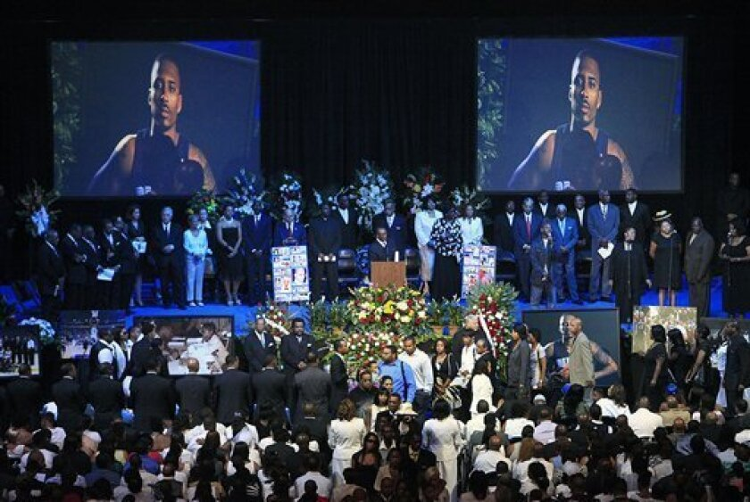 Slain NBA player Wright memorialized in hometown - The San