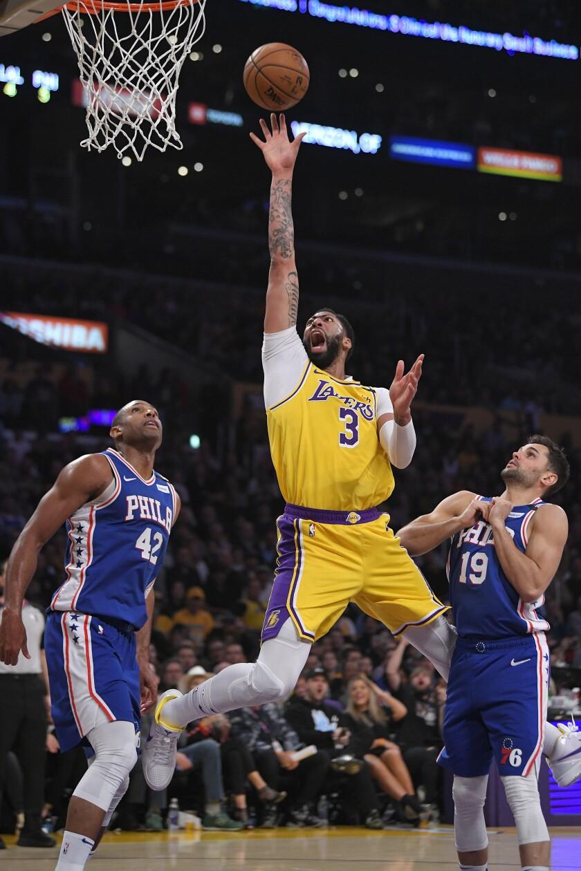 76ers Lakers Basketball