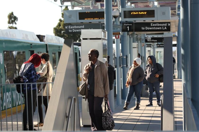 Transit ridership decline