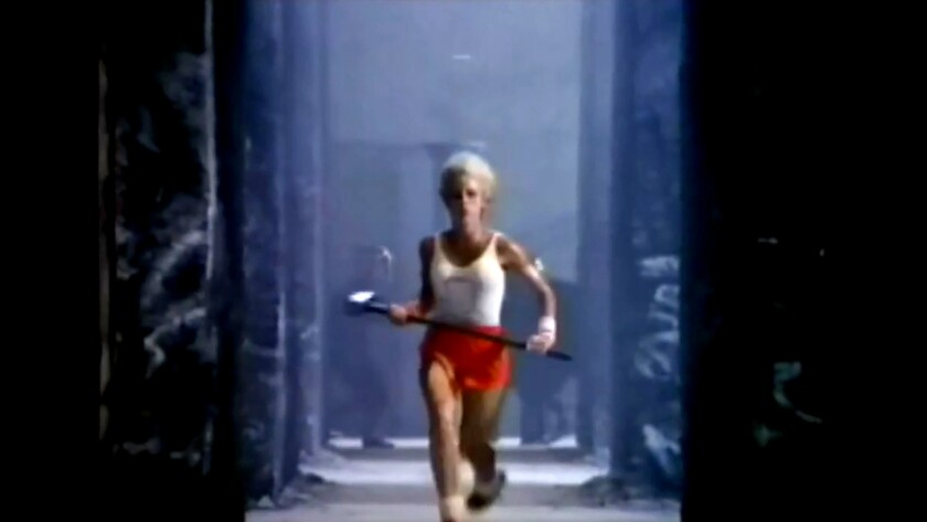 "Apple's famous ""1984"" Super Bowl ad was directed by Ridley Scott and was enormously successful."