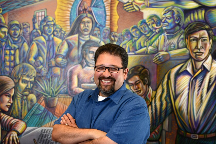 For years, Pomona College history Professor Tomas Summers Sandoval and his students have been gathering oral histories from Latino Vietnam War veterans.
