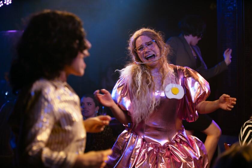 Lana McKissack plays Drew Barrymore's character, Josie.
