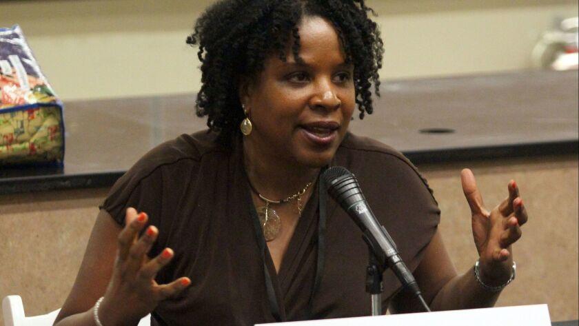 Tayari Jones at the L.A. Times Festival of Books in 2012.