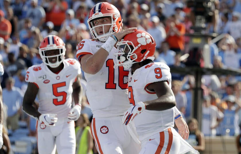 Thirty-seven players on Clemson's football team tested positive for the coronavirus in June.
