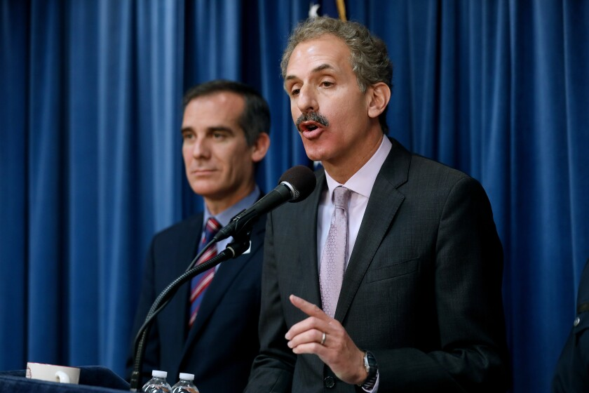 Los Angeles City Atty. Mike Feuer