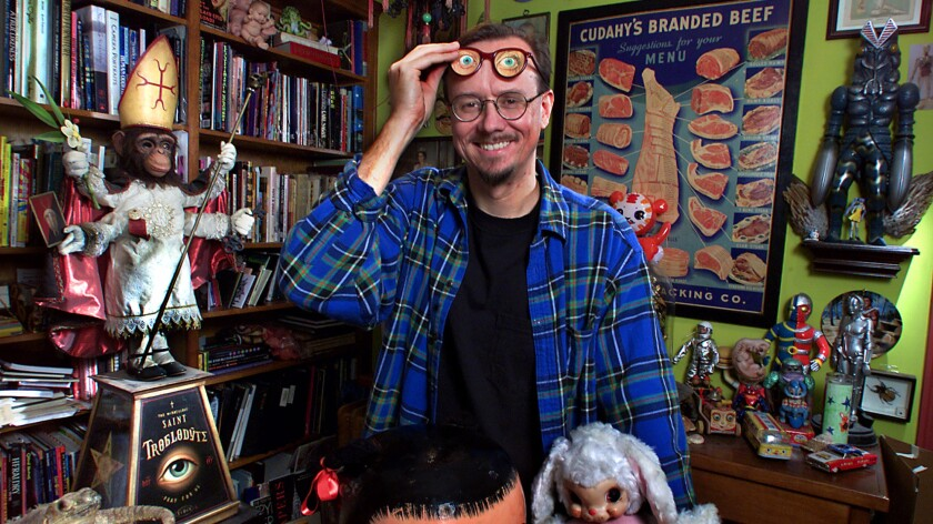 Los Angeles painter Mark Ryden, in 2002. A work by the artist is at the center of a controversy at a Virginia museum.