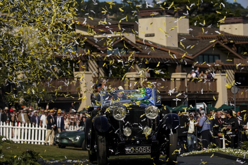 The 1931 Bentley 8-litre Gurney Nutting sport tourer owned by Sir Michael Kadoorie of Hong Kong was named best in show