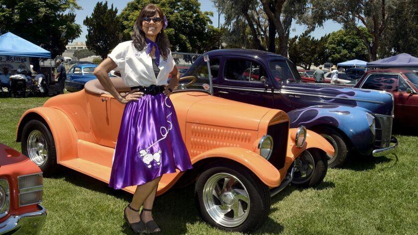 M. J. Songstad was one of the 100-plus Road Kings members who helped make last week's car show a roa