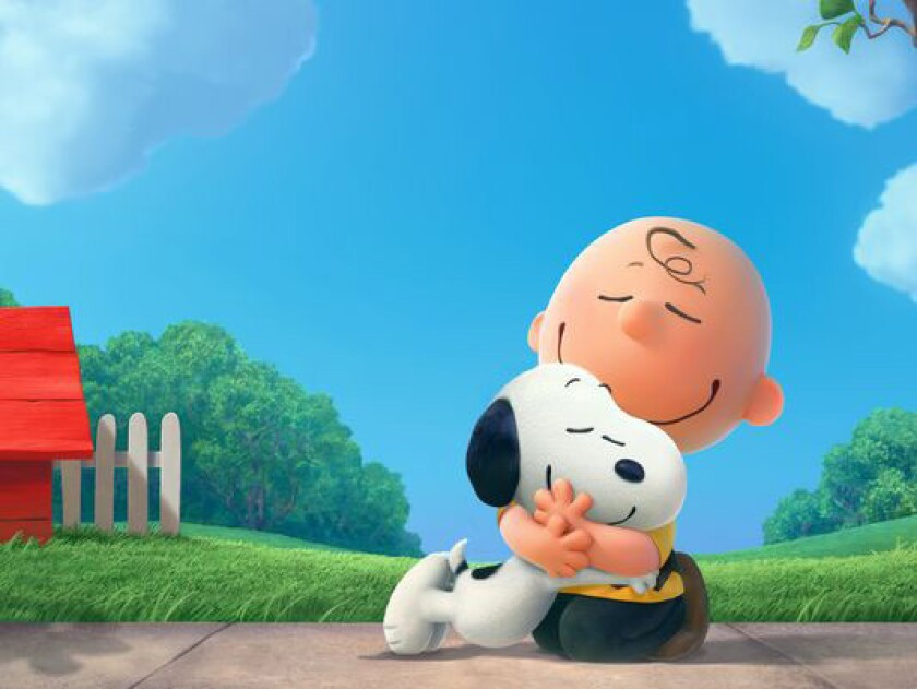 """An image from the """"Peanuts"""" movie scheduled to be released in November 2015."""