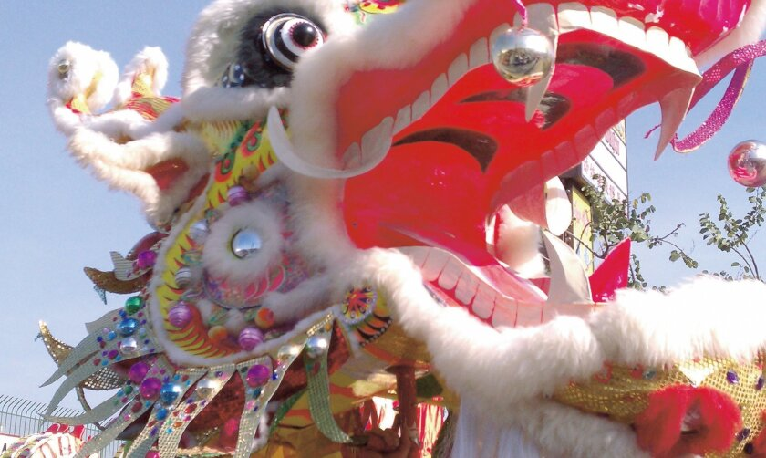 Chinatown's 116th Golden Dragon Parade will celebrate the Lunar New Year on Saturday, Feb. 21. The dragon represents prosperity, strength and bravery.