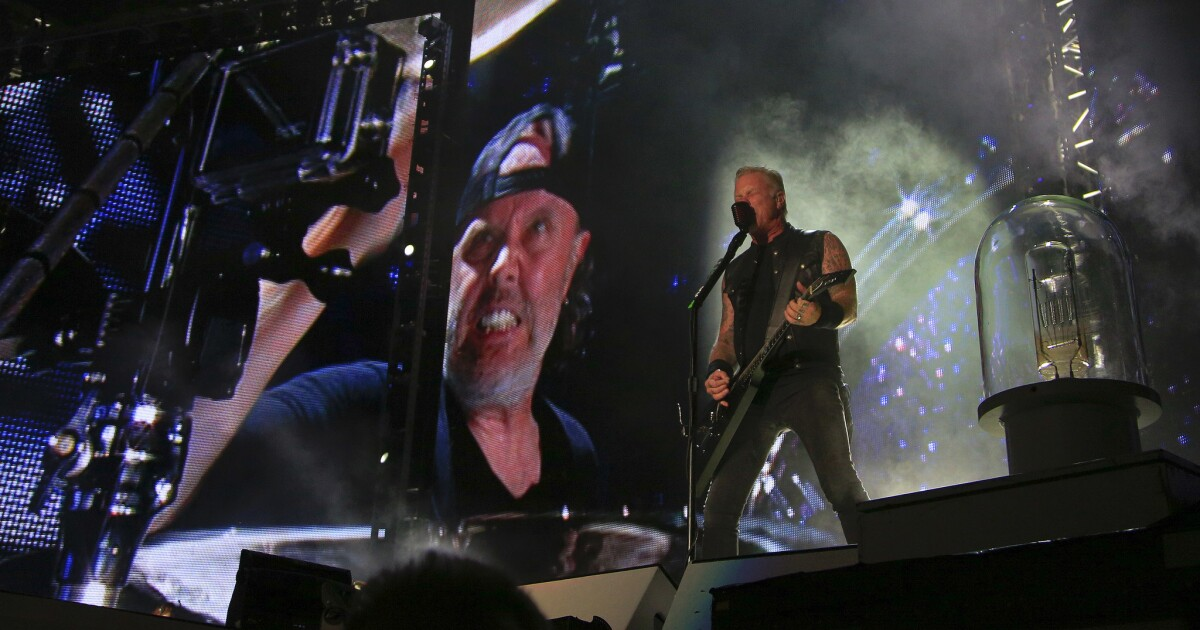 Metallica to rock out on a big screen near you, including at Chula Vista's South Bay Drive-In