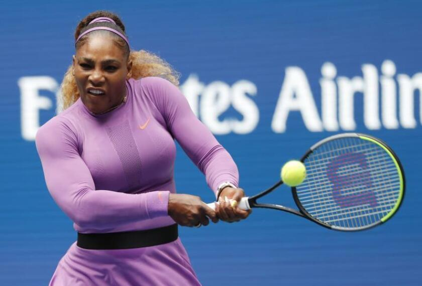 Serena Williams pasa a cuartos de final tras superar a Martic