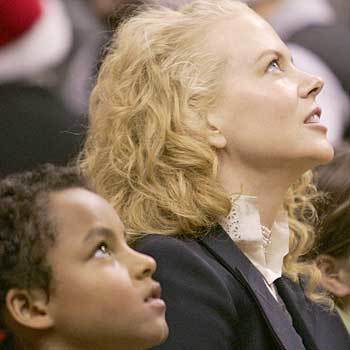 Nicole Kidman and her son Conor