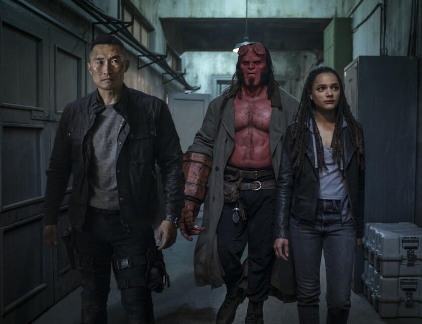 """Sin Guillermo del Toro ni Ron Perlman, """"Hellboy"""" busca convertirse en un 'reboot' exitoso."""