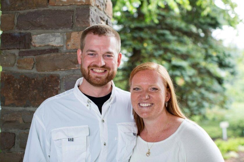 Dr. Kent Brantly and his wife, Amber, are seen in an undated photo provided by Samaritan's Purse. Brantly became the first person infected with Ebola to be brought to the United States from Africa, arriving at at Emory University Hospital, in Atlanta on Saturday, Aug. 2, 2014. Fellow aid worker Nan