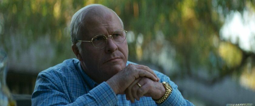 "Christian Bale as Dick Cheney in Adam McKay's ""Vice"""