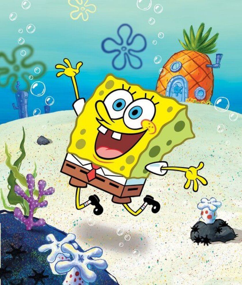 "A scene from ""SpongeBob SquarePants,"" a Nickelodeon show."