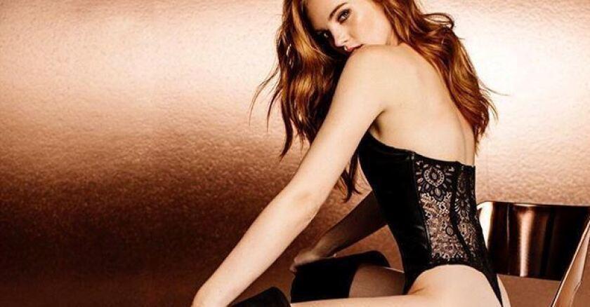 Alexina Graham, modelo de Victoria's Secret