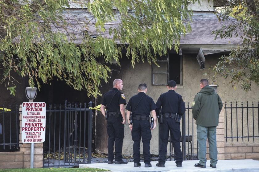 Fire at a Coachella Valley mosque