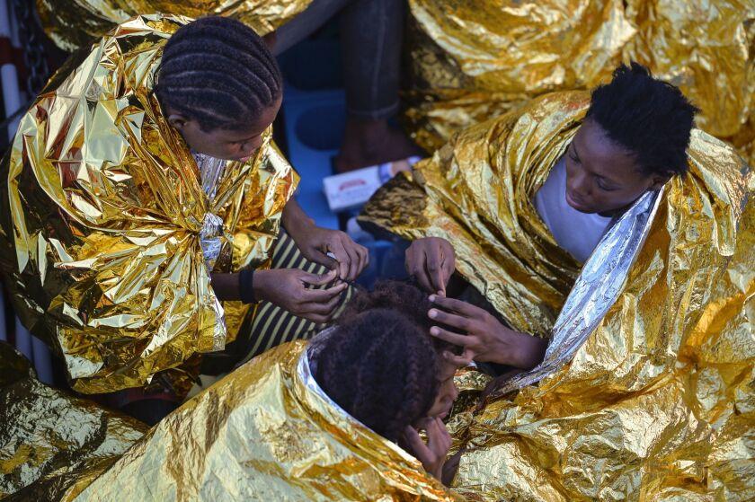 African women rescued