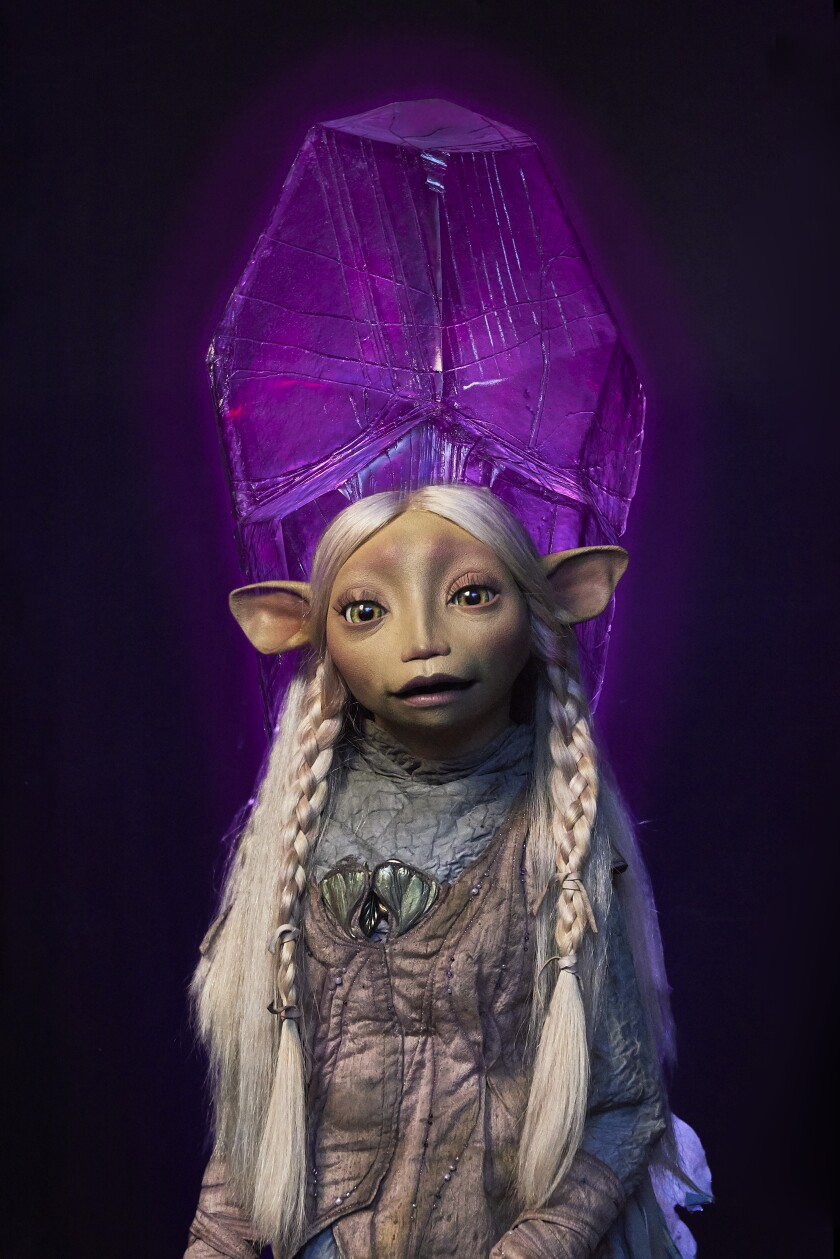 Dark Crystal: Age of Resistance puppet Brea
