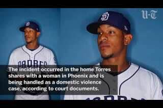 Padres pitcher Jose Torres facing domestic violence charges