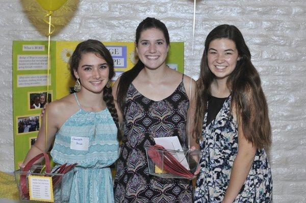 Charlotte Bacon, Chelsea Loyd, Hannah Williams