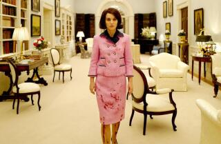 Kenneth Turan reviews the 'smart and unexpected' biopic 'Jackie'