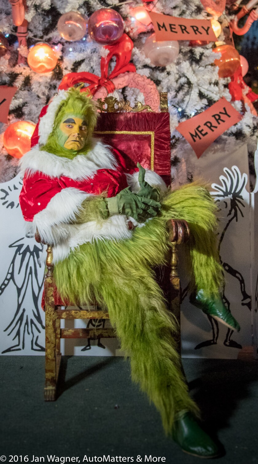 The Grinch at The Old Globe Theater